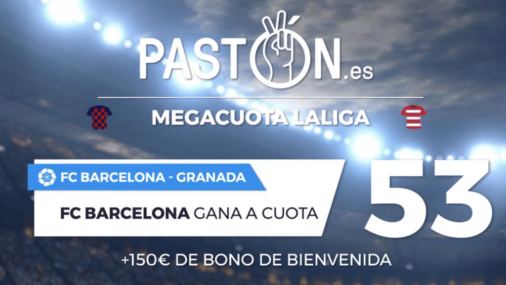 Supercuota Pastón La Liga FC Barcelona - Granada