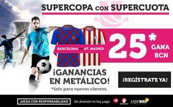 Supercuota Wanabet Supercopa Barcelona - Atlético de Madrid