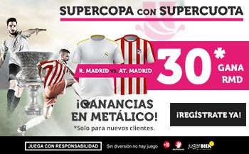 Supercuota Wanabet Supercopa Real Madrid - Atlético de Madrid