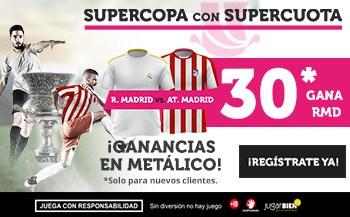 Supercuota Wanabet Supercopa Real Madrid - Atlético de Madrid