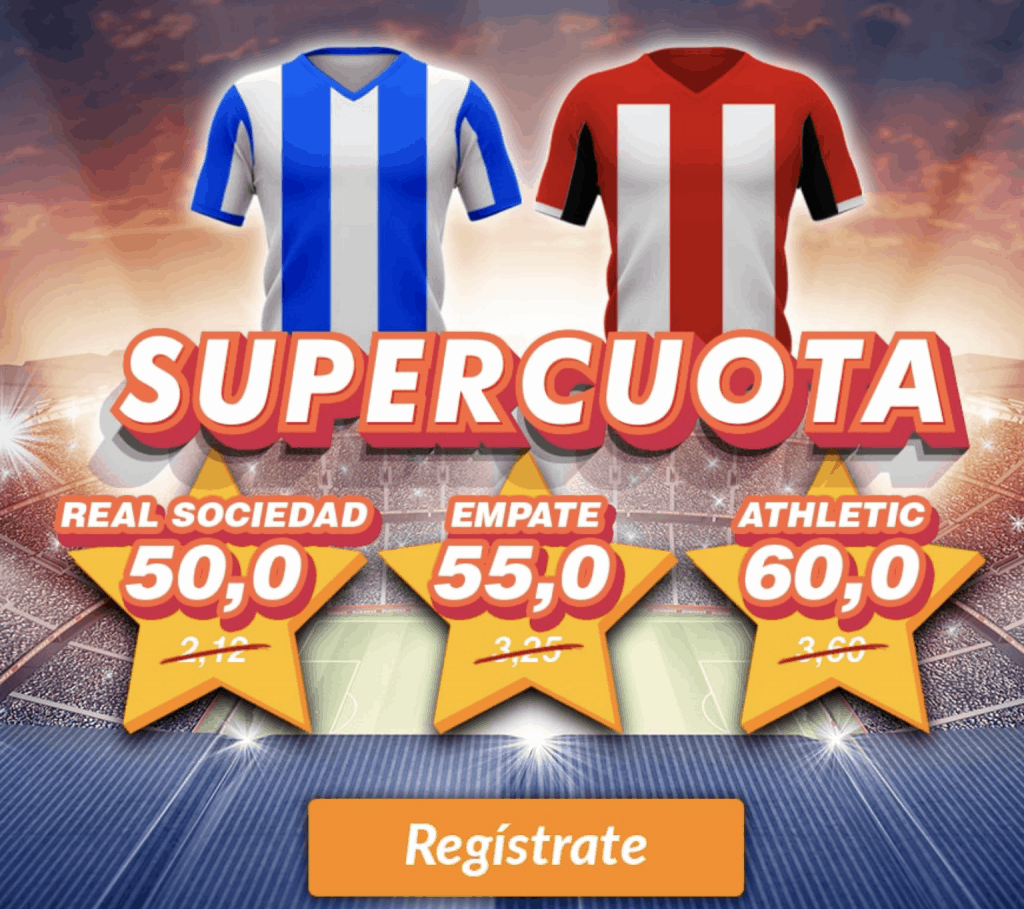 Supercuota Casino Barcelona : Real Sociedad - Athletic