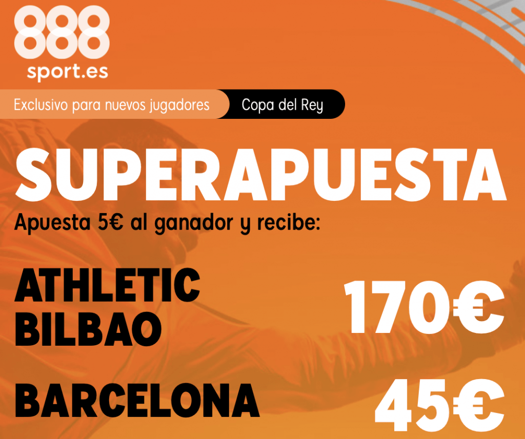 Supercuota 888sport Athletic Bilbao - FC Barcelona