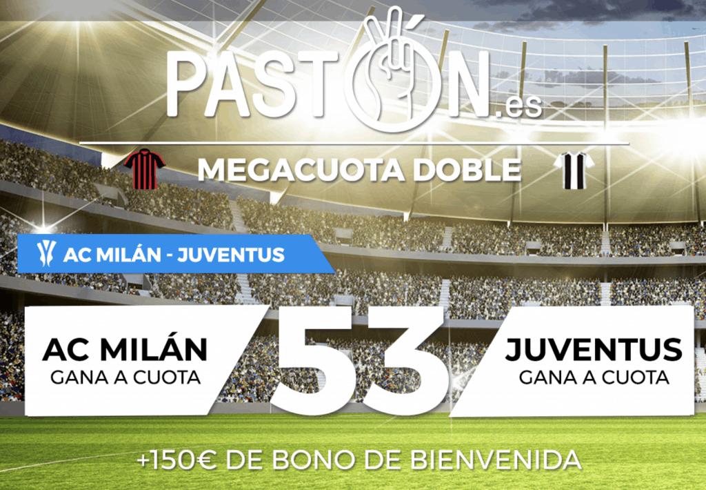 Supercuota pastón Copa Italia : Ac Milán - Juventus.
