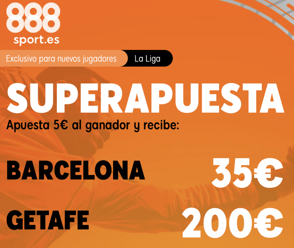 Supercuota 888sport Fc Barcelona - Getafe