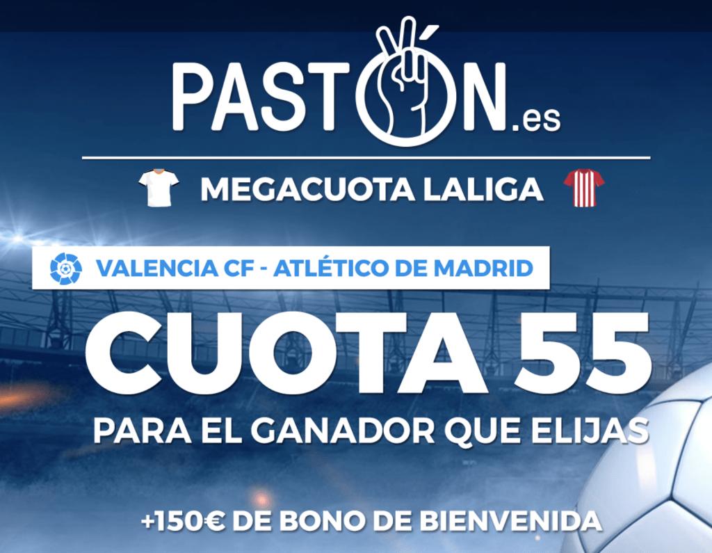 Supercuota pastón La Liga: Valencia CF - Atlético de Madrid