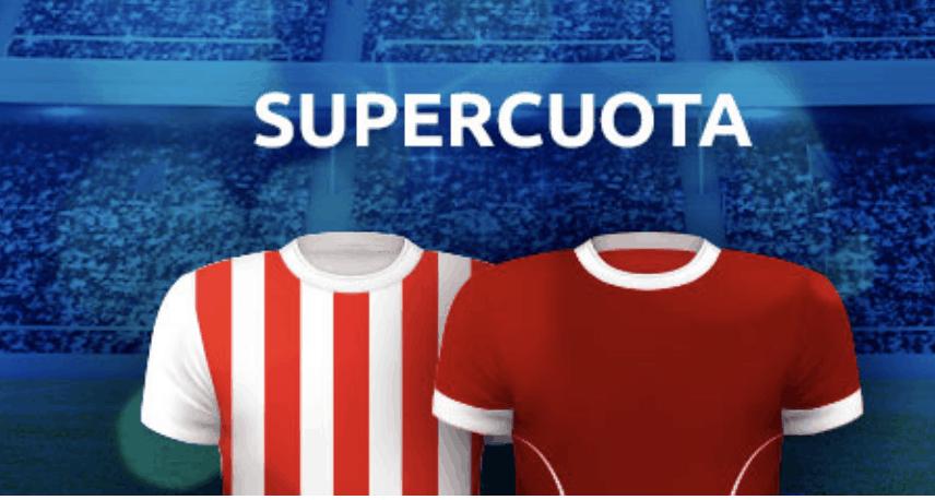 Supercuota Mondobets Champions League : Atlético de Madrid - Liverpool