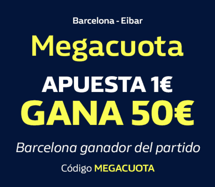 Supercuota William Hill Liga Fc Barcelona - Eibar