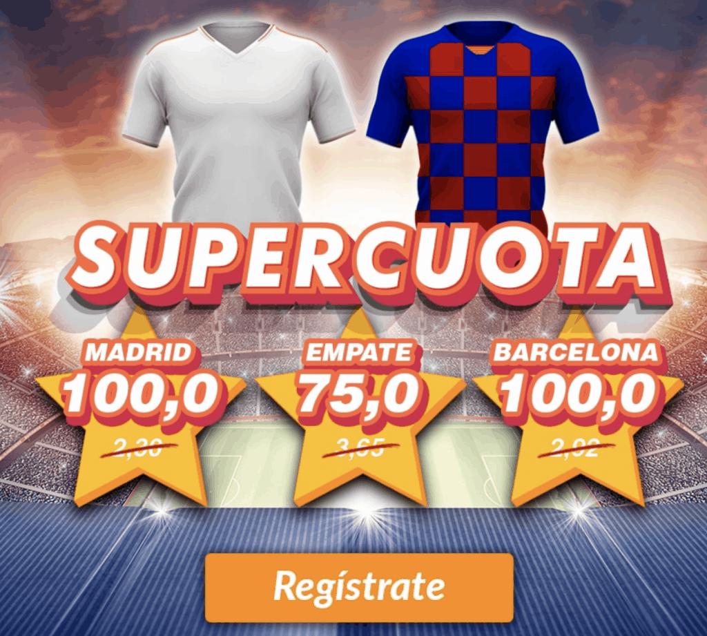 Supercuota Casino Barcelona El Clásico : Real Madrid - Fc Barcelona