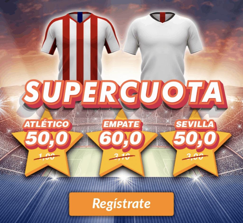 Supercuota Casino Barcelona La Liga : Atlético de Madrid - Sevilla FC