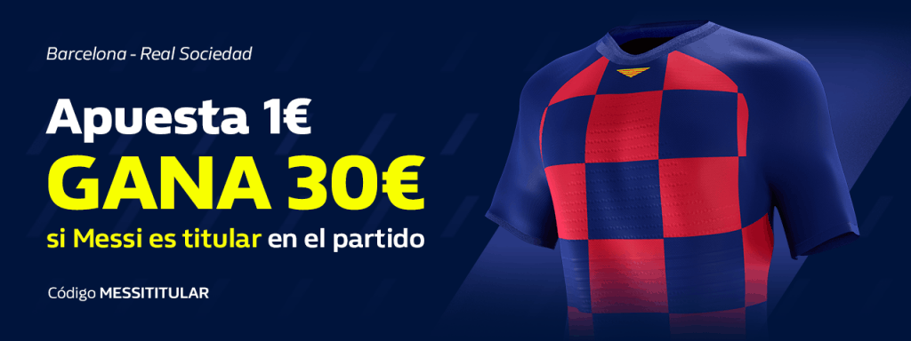 Supercuota William Hill La Liga Fc Barcelona - Real Sociedad