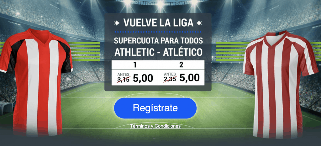 Supercuota Codere Liga : Athletic - Atlético de Madrid