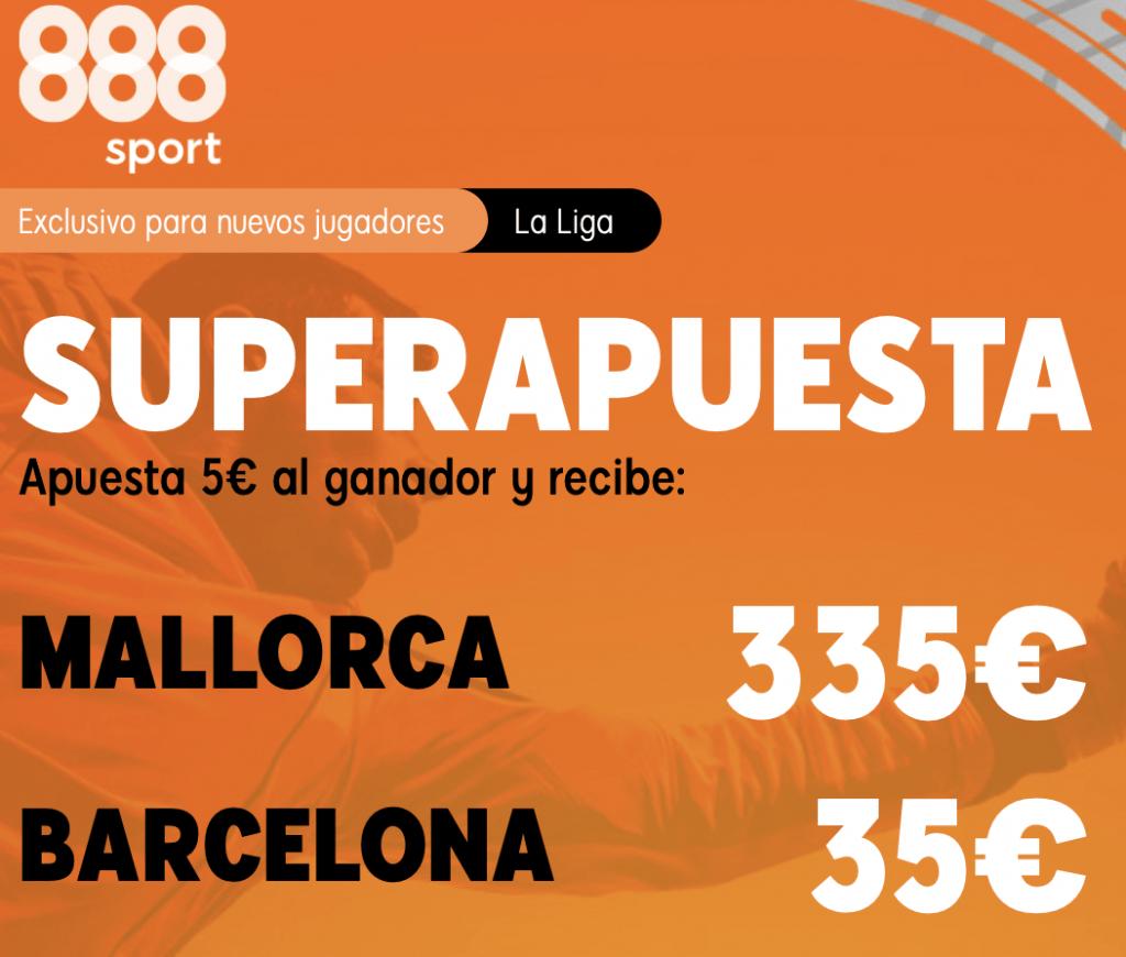 Supercuota 888sport RCD Mallorca - FC Barcelona