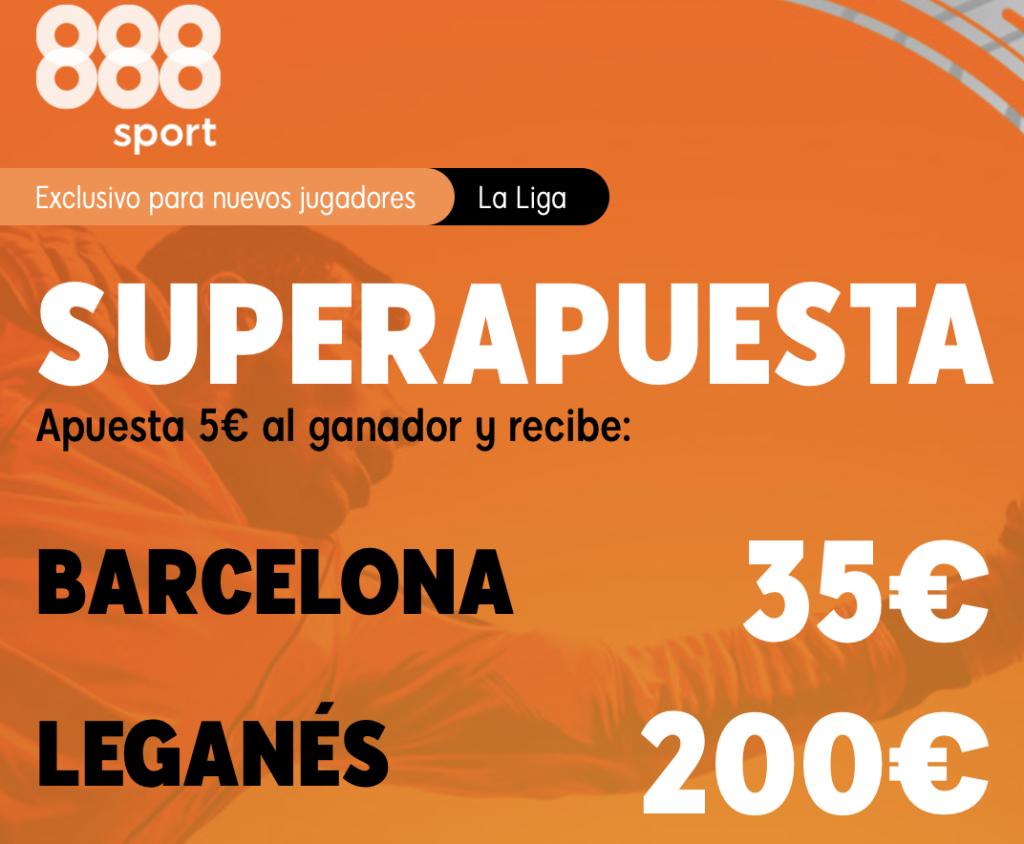 Supercuota 888sport FC Barcelona - Leganés