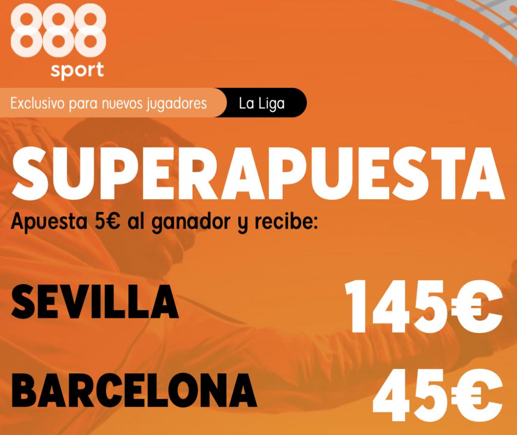 Supercuota 888sport Sevilla Fc - FC Barcelona