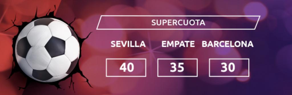 Supercuota Mondobets Sevilla FC - FC Barcelona