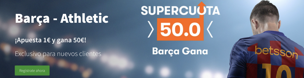 Supercuota Betsson Athletic - Fc Barcelona