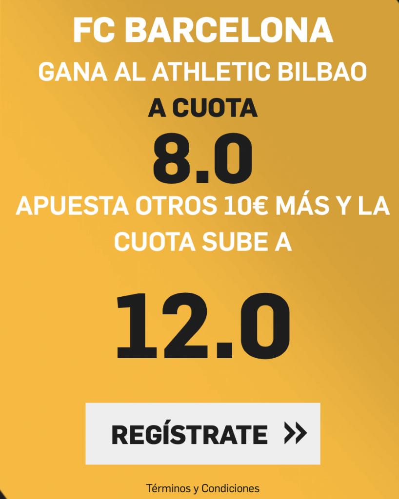 Supercuota Betfair Fc Barcelona - Athletic Bilbao
