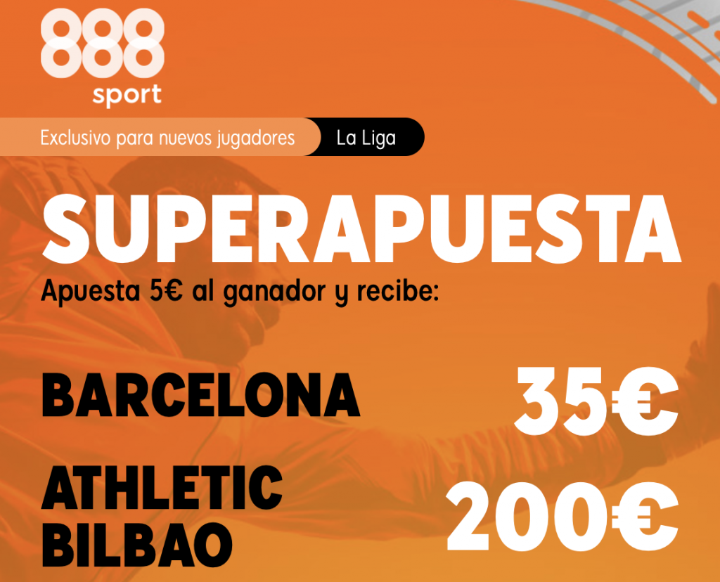 Supercuota 888sport FC Barcelona - Athletic