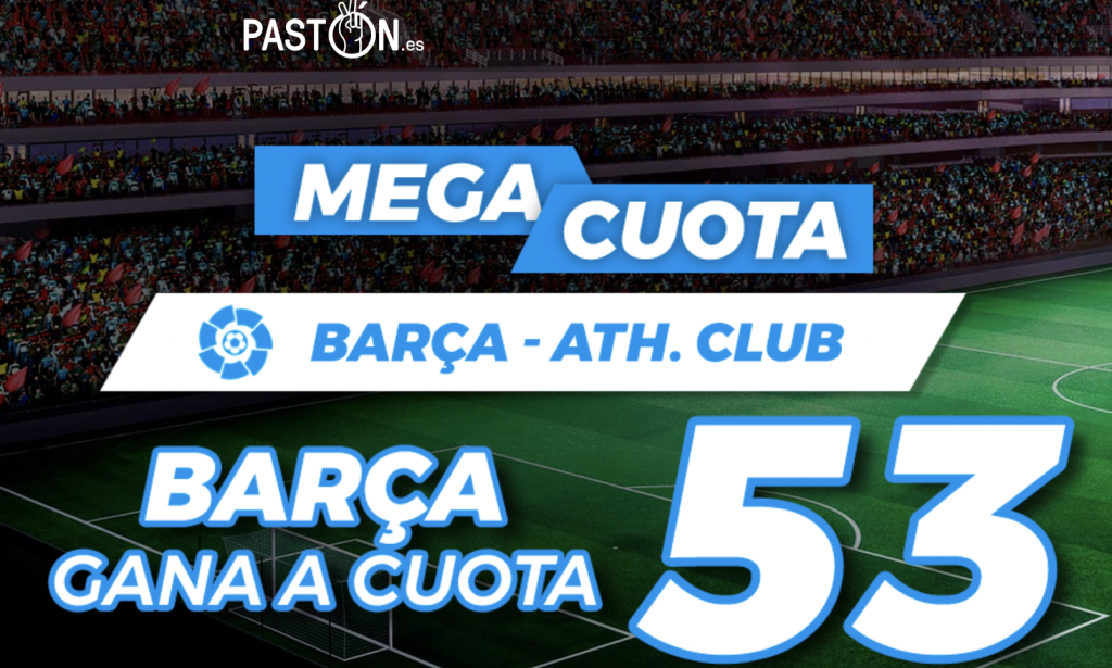 Supercuota Pastón La Liga Fc Barcelona - Athletic Bilbao