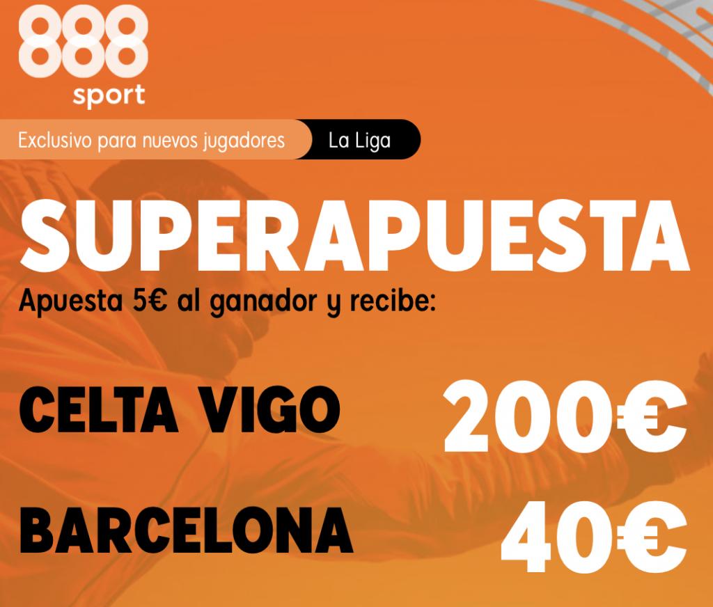 Supercuota 888sport Celta de Vigo - FC Barcelona