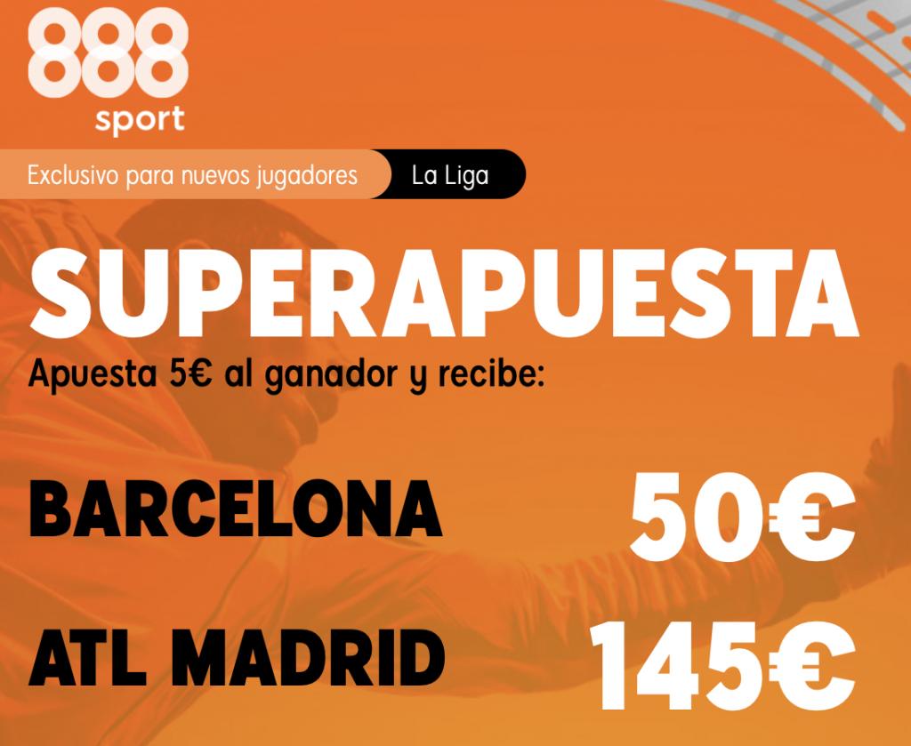 Supercuota 888sport FC Barcelona - Atlético de Madrid