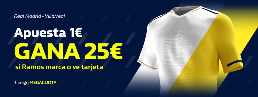 Supercuota William Hill Real Madrid - Villarreal