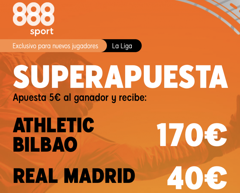 Supercuota 888sport Athletic - Real Madrid