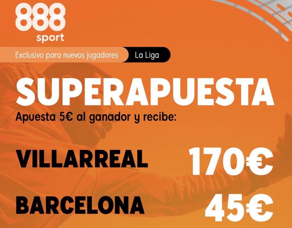 Supercuota 888sport Villarreal - FC Barcelona