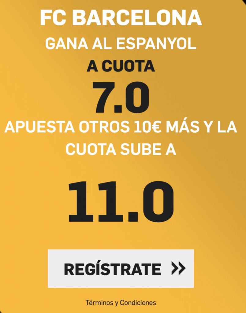 Supercuota betfair Fc Barcelona - Espanyol