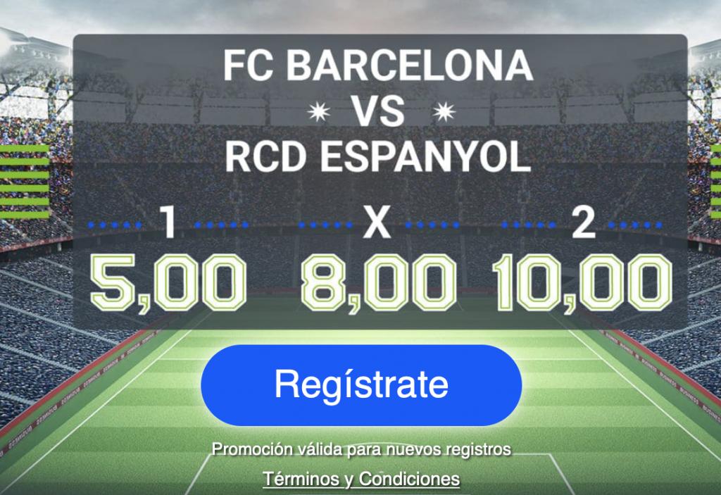 Supercuota Codere FC Barcelona - Espanyol