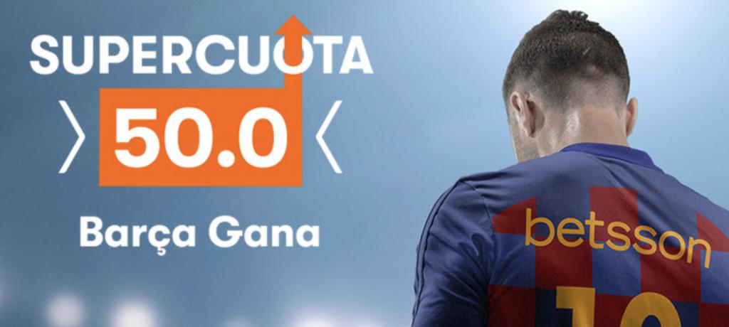 Supercuota Betsson FC Barcelona - Espanyol