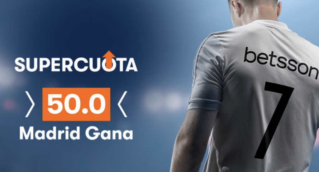 Supercuota Betsson Granada - Real Madrid