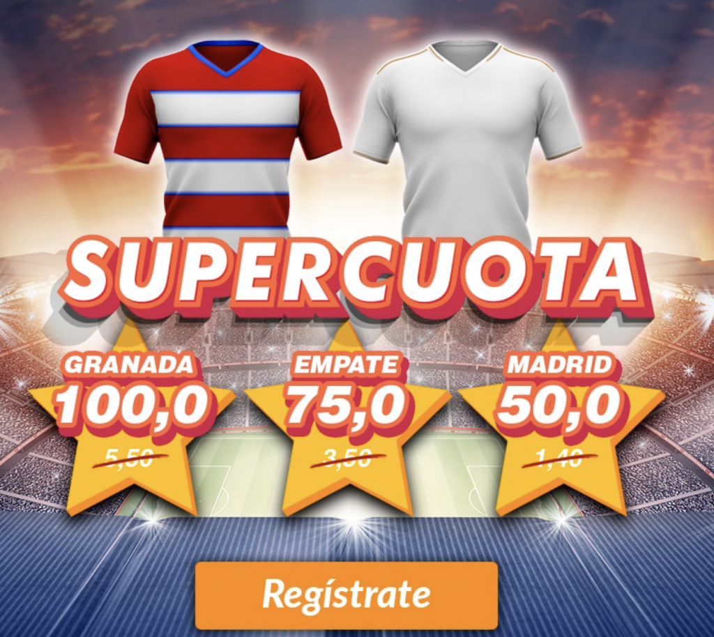 Supercuota Casino Barcelona : Granada - Real Madrid