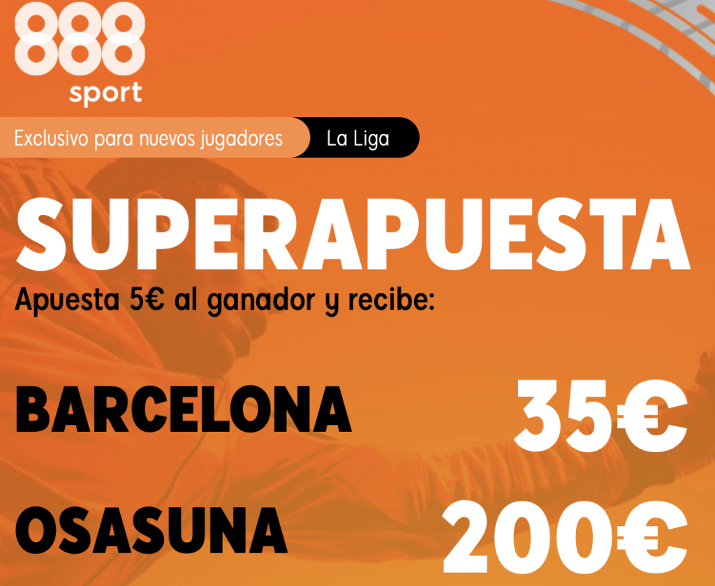 Supercuota 888sport Fc Barcelona - Osasuna