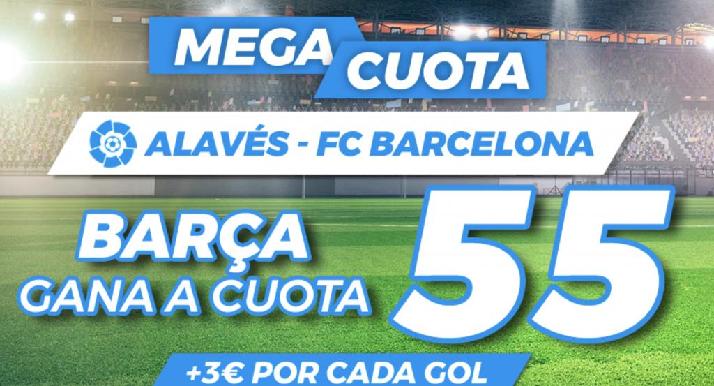 Supercuota Pastón Alavés - FC Barcelona