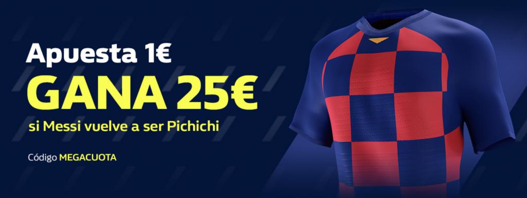 Supercuota William Hill , Messi pichichi.