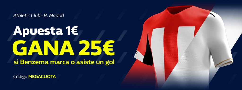 Supercuota William Hill Athletic - Real Madrid