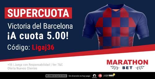 Supercuota Marathonbet Valladolid - Fc Barcelona
