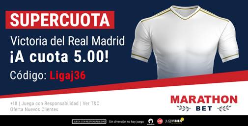 Supercuota Marathonbet Granada - Real Madrid
