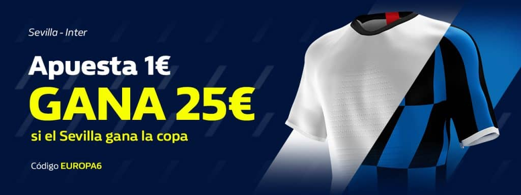 Supercuota William Hill Europa League : Sevilla FC - Inter de Milán