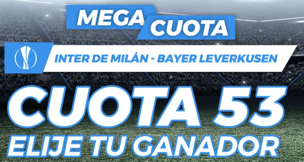 Supercuota Pastón Inter de Milán - Bayer Leverkusen