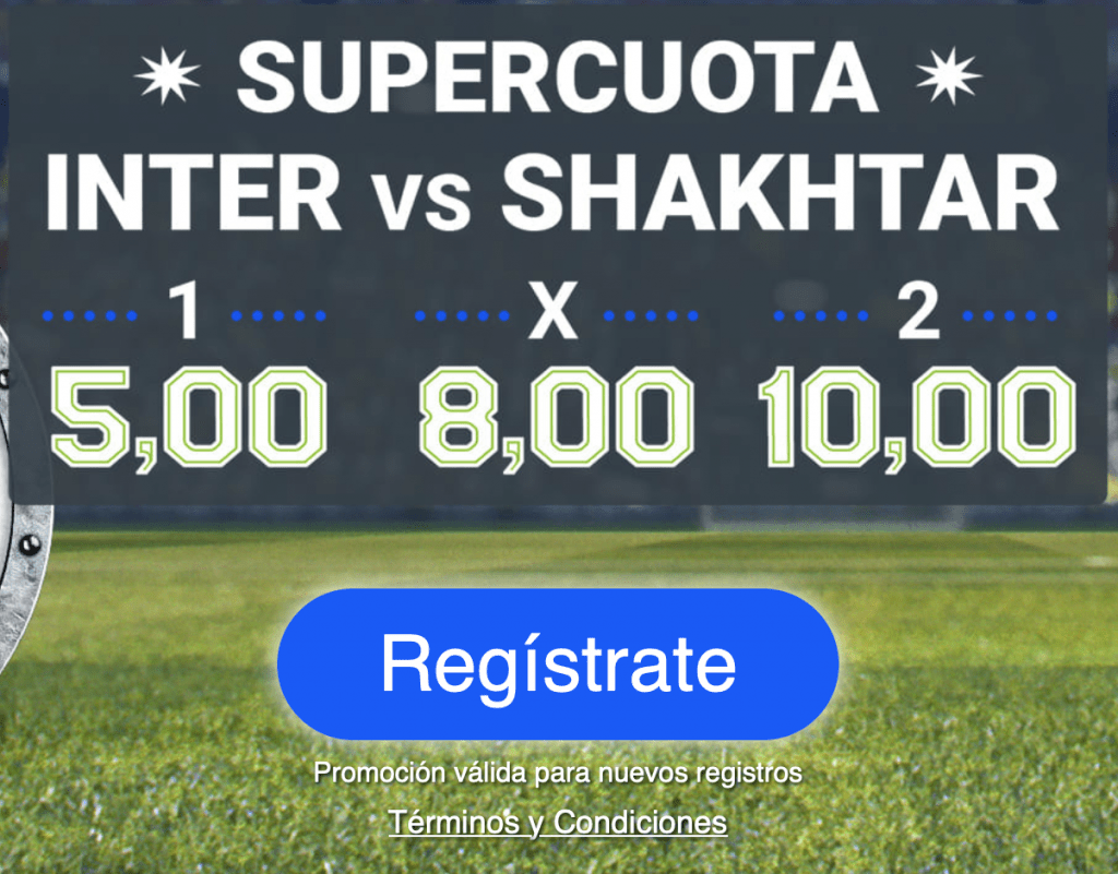 Supercuota Codere Europa League : Inter - Shakhtar