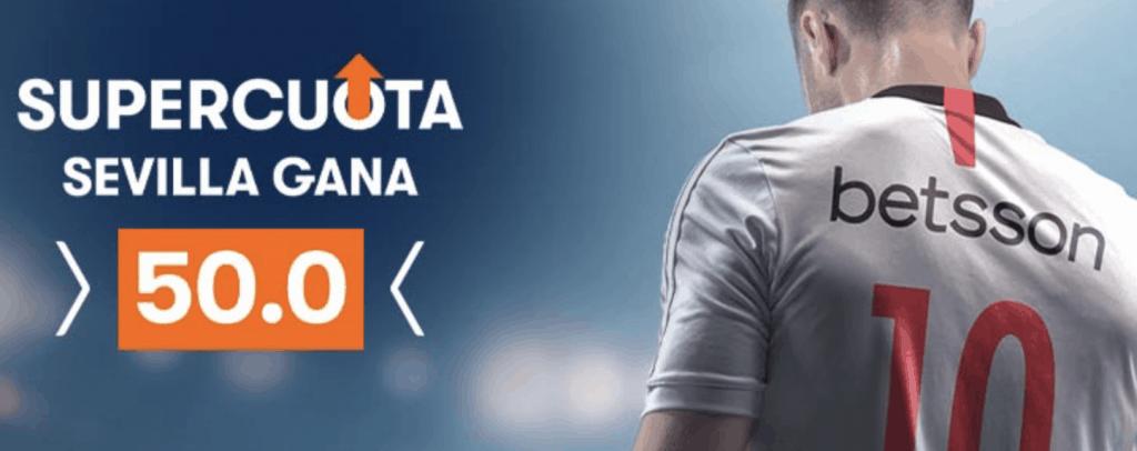 Supercuota betsson Europa League : Sevilla FC - Inter de Milán.