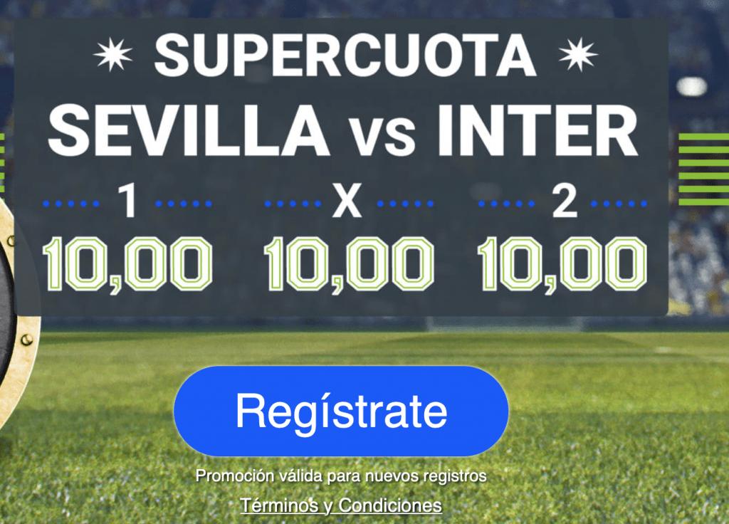 Supercuota Codere Europa League : Sevilla - Inter
