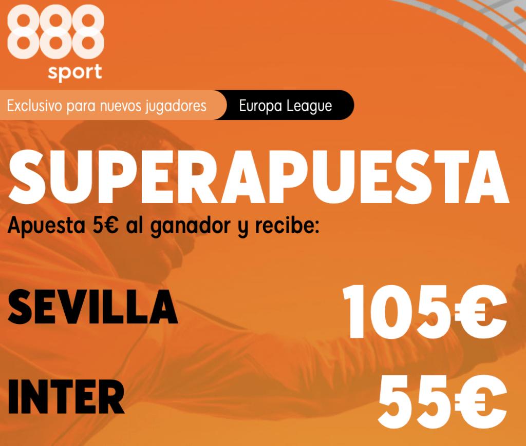 Supercuota 888sport Final Europa League : Sevilla - Inter
