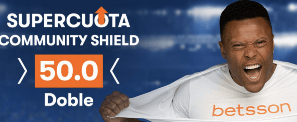 Supercuota betsson Community Shield