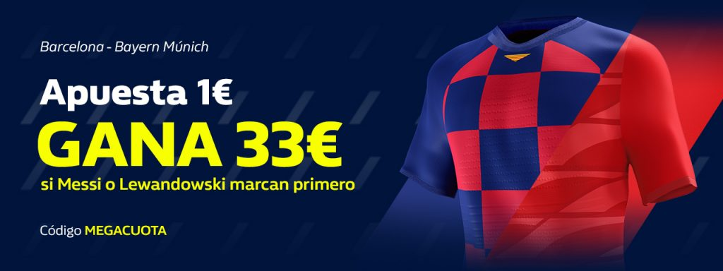 Supercuota William Hill Champions League : FC Barcelona - Bayern Munich