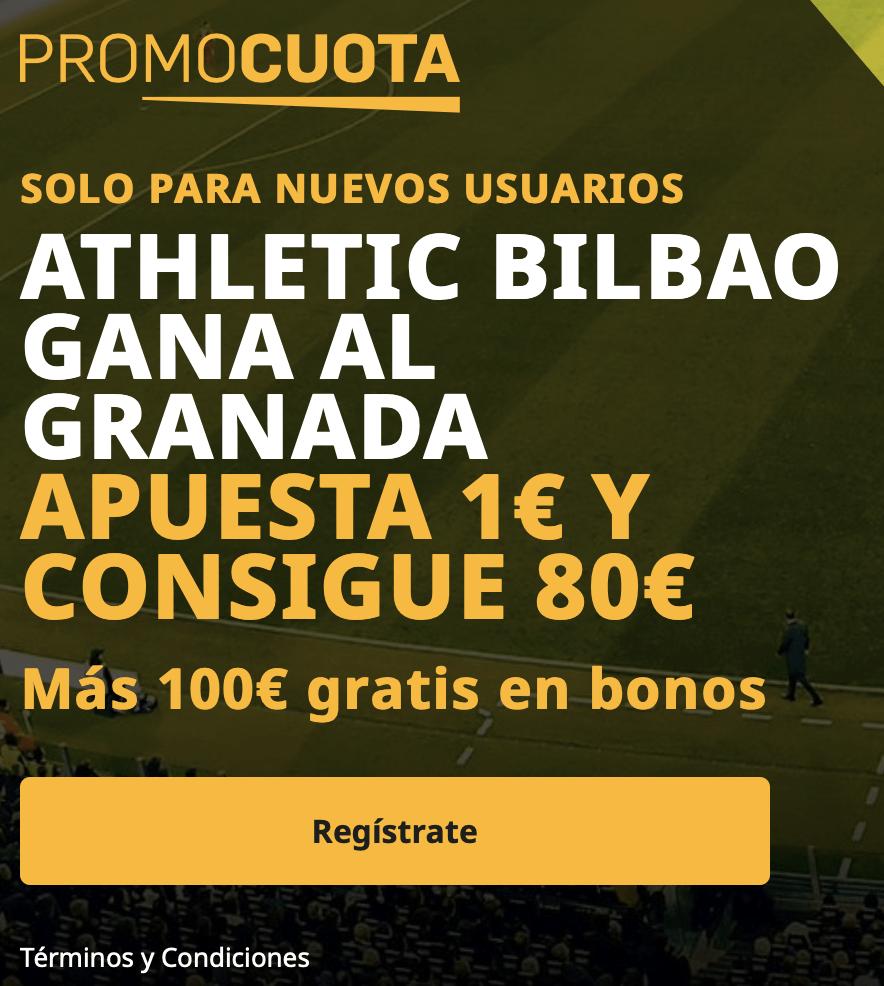 Supercuota betfair La Liga : Granada - Athletic