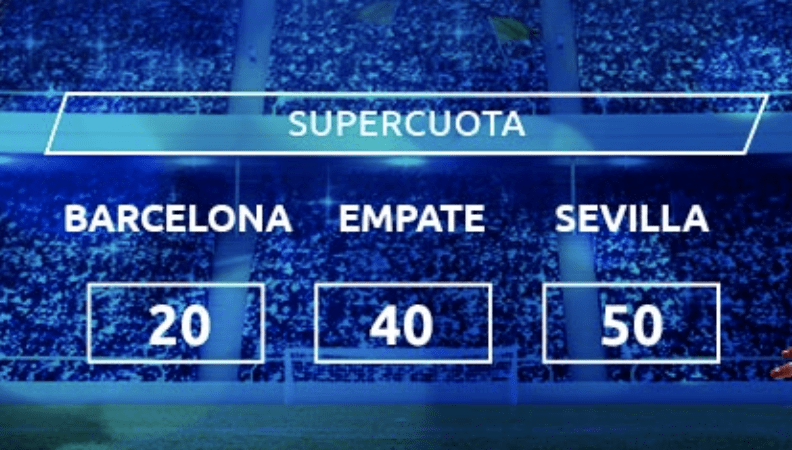 Supercuota Mondobets La Liga: Fc Barcelona - Sevilla