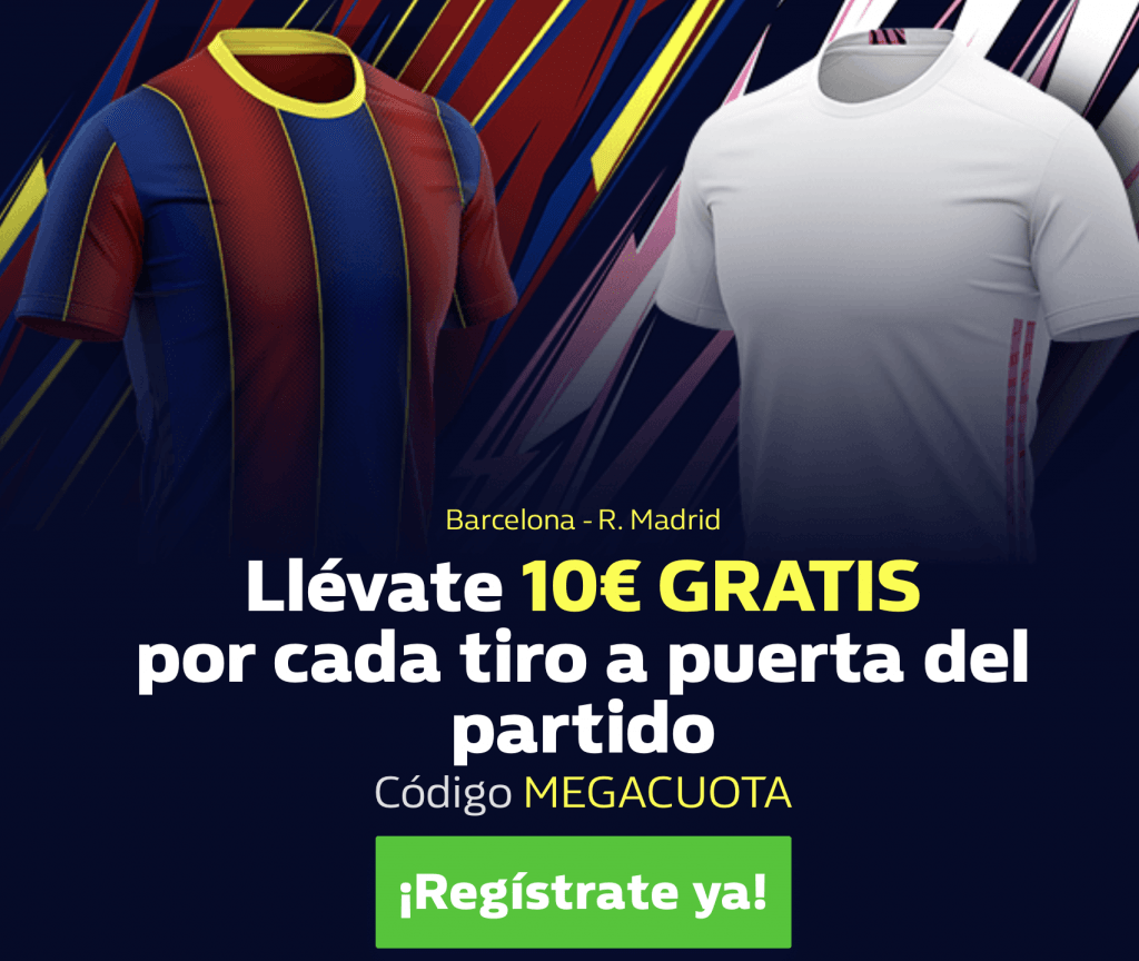 Supercuota William Hill El Clásico Liga : Fc Barcelona - Real Madrid